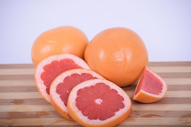 grejpfrut kalorie